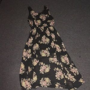 High low forever 21 floral dress
